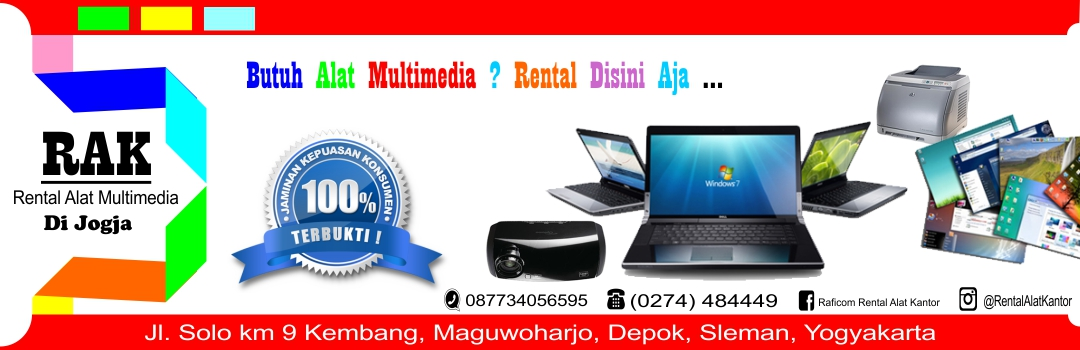 RAK || Rental Alat Multimedia Di Jogja